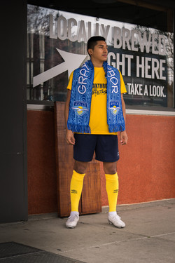 GHGFC - local yellow scarf