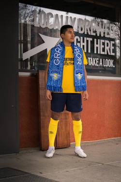 GHGFC - local yellow scarf