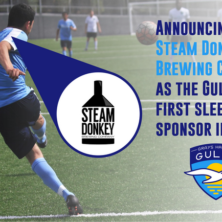New Sleeve Sponsor, Steam Donkey Brewing Co.