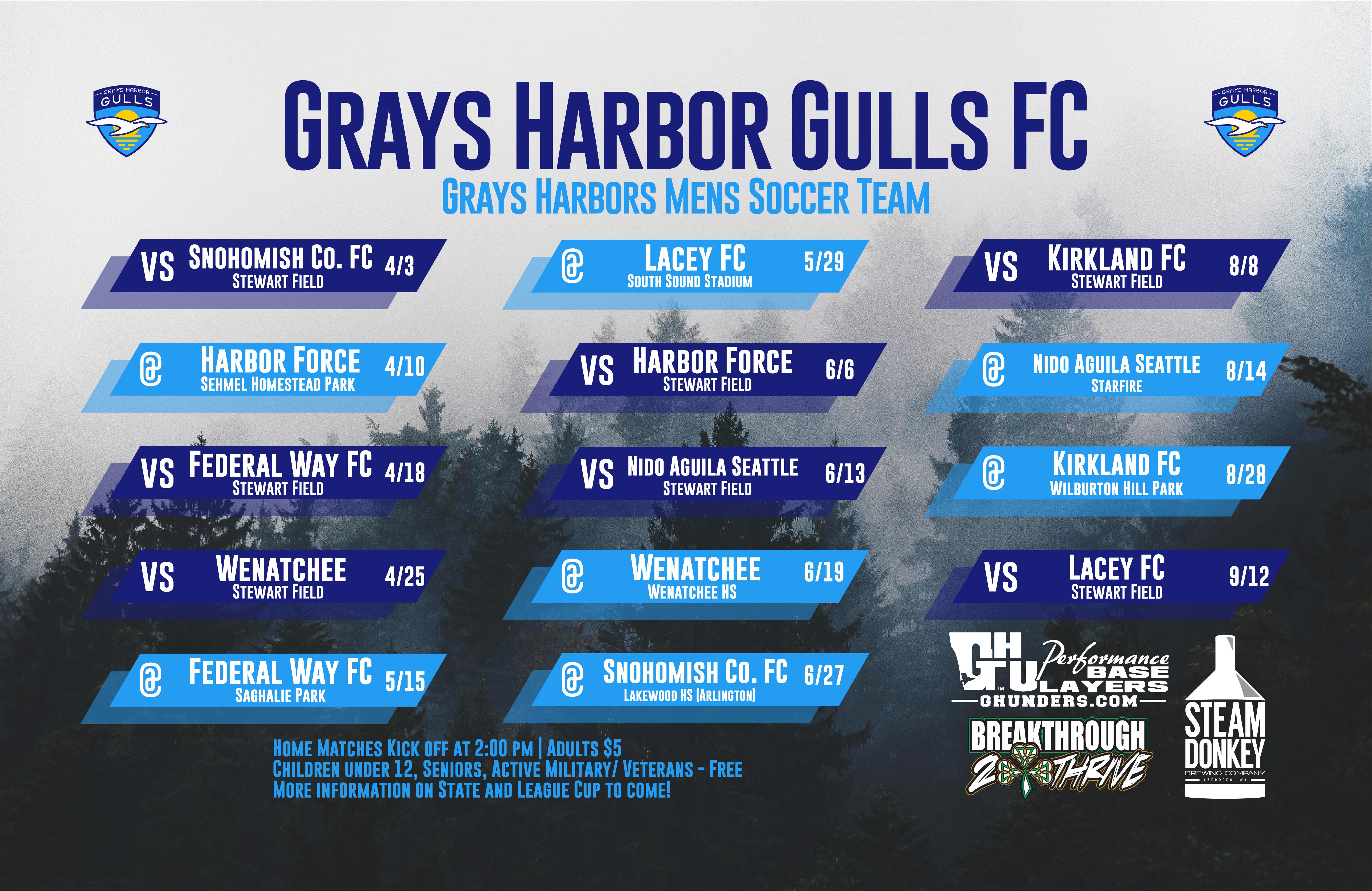 Gulls Schedule