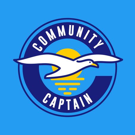 Community Captain Starting in 2020