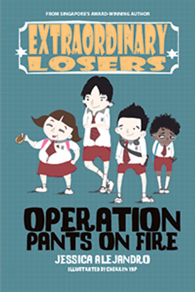 Exlosers #1: Operation Pants on Fire (Display copy)