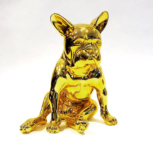 "Lisa Sartor - ""Gold Frenchie"""
