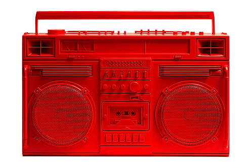 Lyle Owerko - Red Boombox