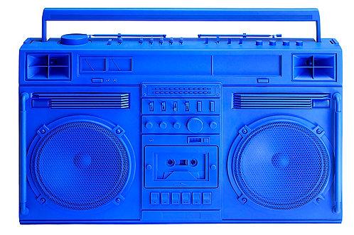 Lyle Owerko - Blue Boombox