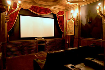 executive training resort theatre room