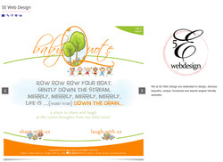 5 E Web Design example