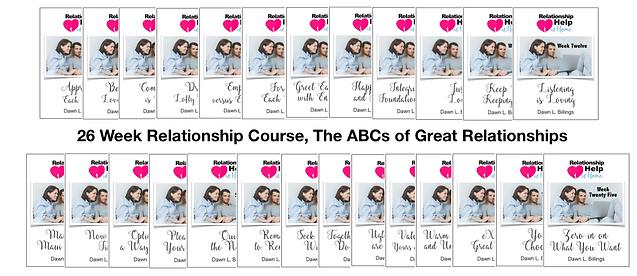 mini pics of 26 week ABCs of Great Relat