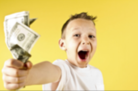 using money to reward and punish childre