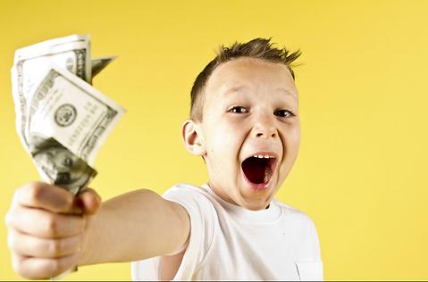 using money to reward and punish childre