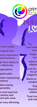 Purple Color Personality Relational Tendencies