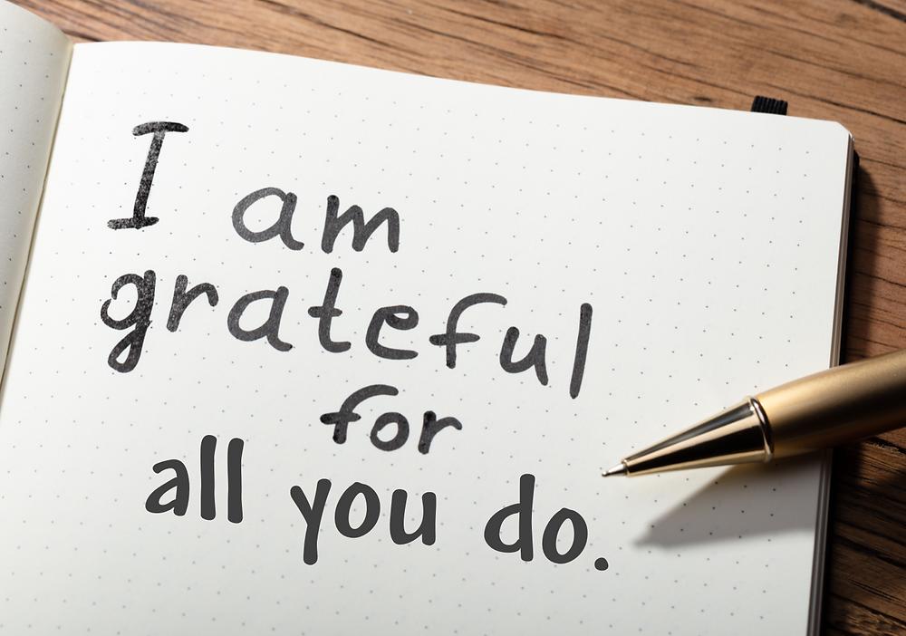 Gratitude heals relationships