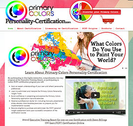 Personality Colors Certification
