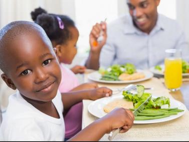 Creating Happy Dinnertime Kids