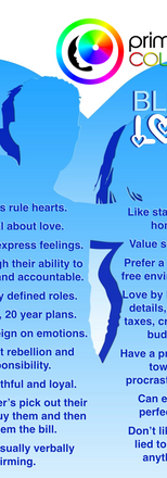 Blue Color Personality Relational Tendencies