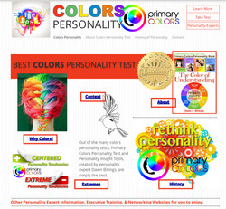 Colors Personality.com