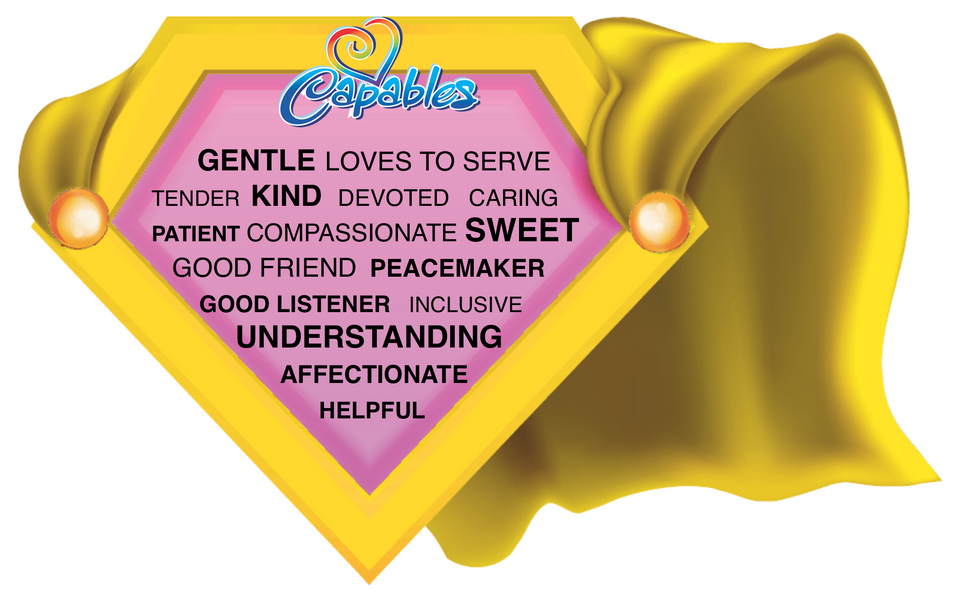 YELLOW cape with centered tendencies