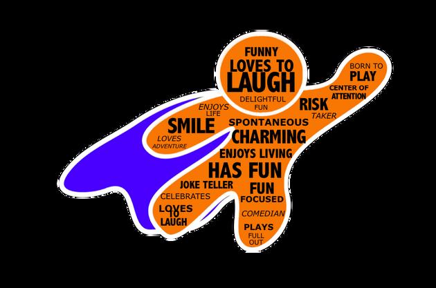 SUPER HERO Orange Centered Personality Tendencies