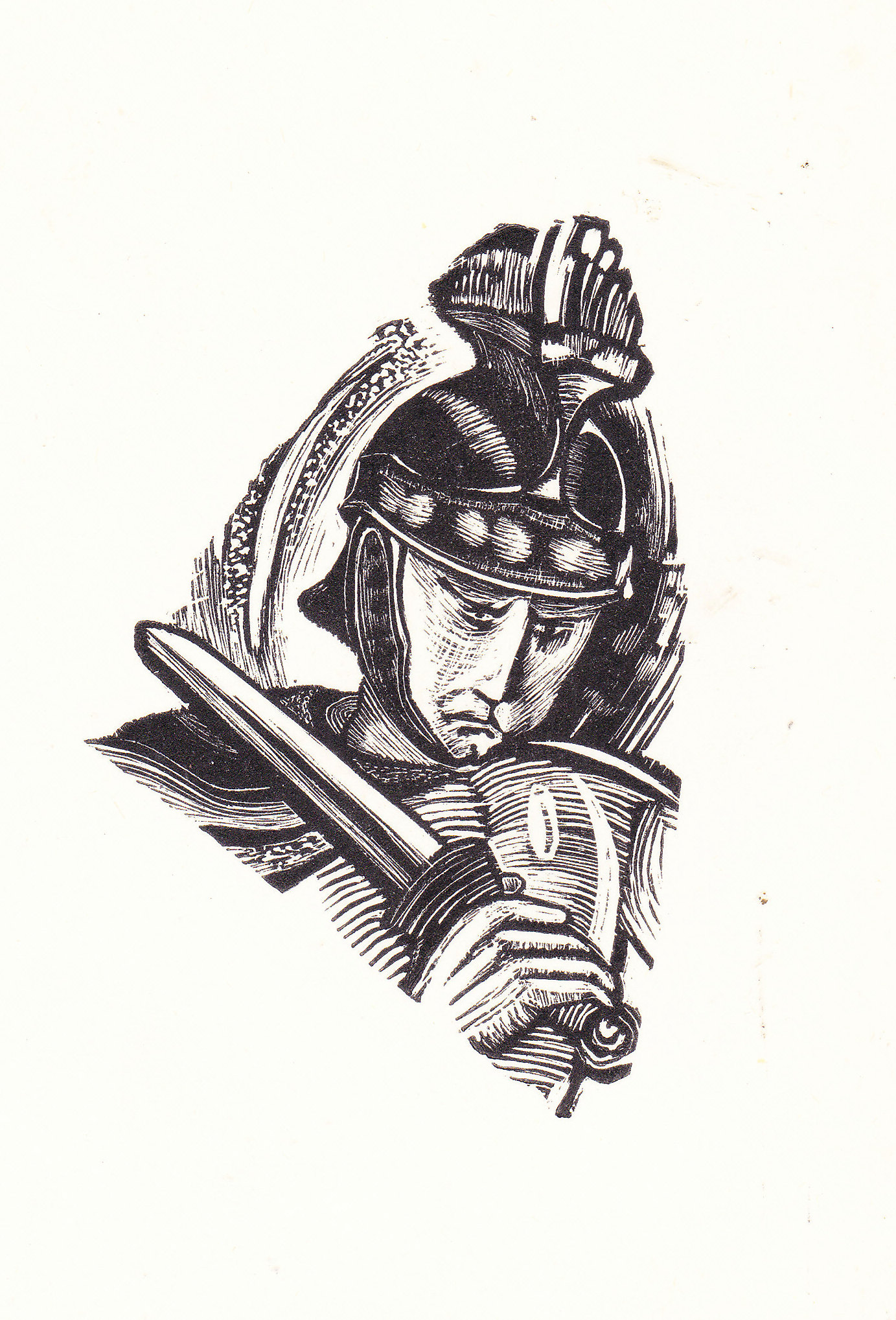 WGa WOOD ENGRAVING ILLUSTRATIONS FOR THE POEM HORATIUS 1963.jpg