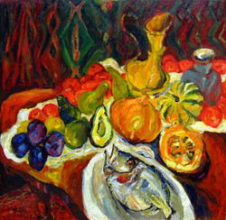 John Dory with Fruit