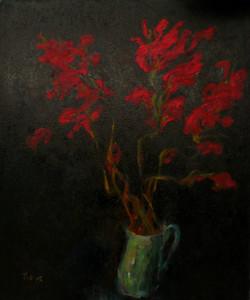 Red Gladioli VII