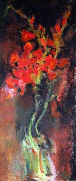 Red Gladioli V