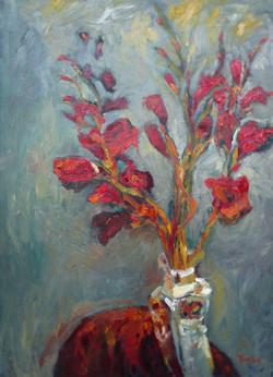 Red Gladioli VIII