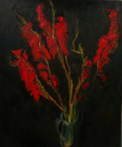 Red Gladioli II