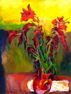 Red Gladioli VI