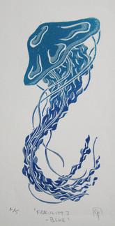 Fragility I - blue