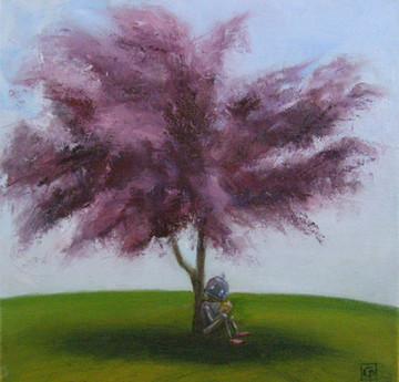 Under the Big Purple Tree