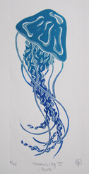 Fragility II - blue