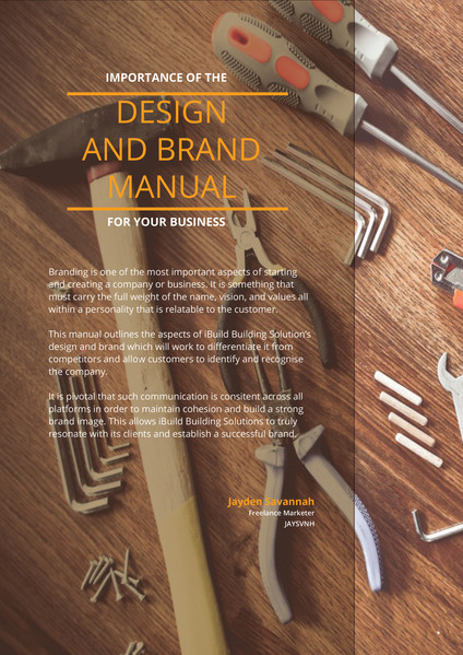 Brand and Design Manual