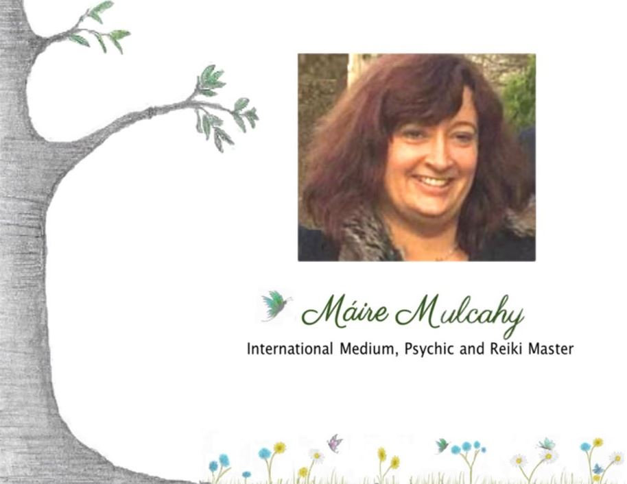 Maire Mulcahy International Medium Psychic & Reiki Master Logo