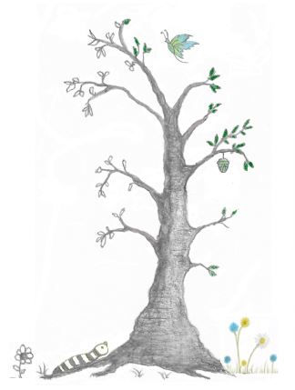 Tree Of Life, Rebirth, Spirit Joy New Life