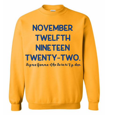 November 12th