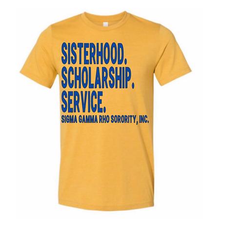 Glittered: Sisterhood, Scholarship, Service