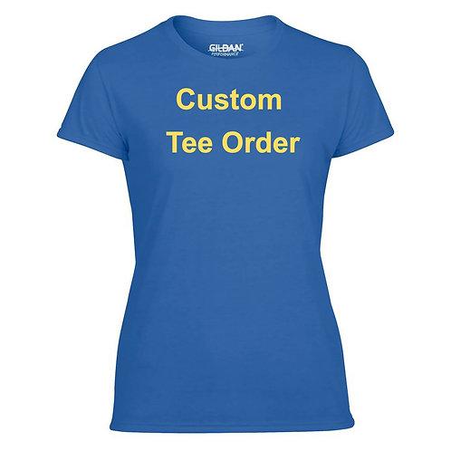 Custom Tee Order