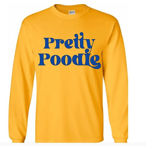 Pretty Poodle Long Sleeve Tee