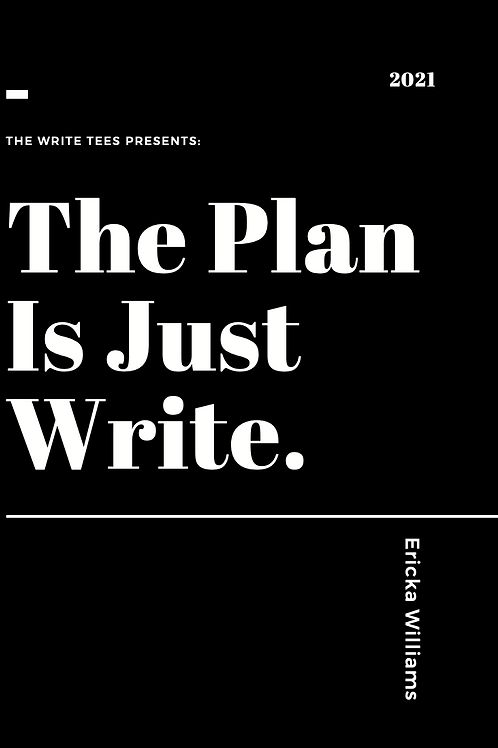 The Plan Is Just Write. Daily Planner