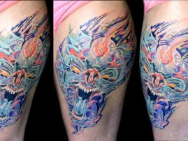 Water Dragon Tattoo