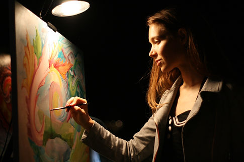 Joness Jones Live Painting at Rootwire