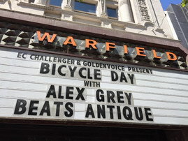 Bicycle Day at the Warfield Theatre