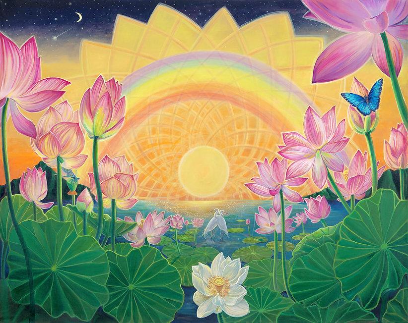 Joness_Jones-Sunrise_On_The_Lotus_Pond.j