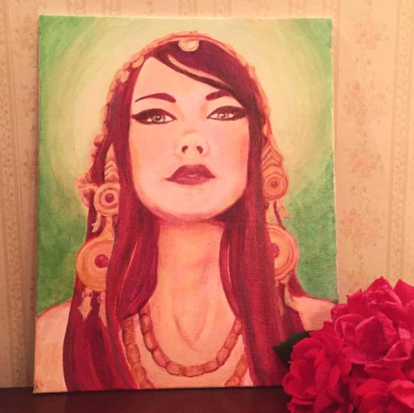 Portrait of Zoe Jakes