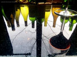 Group 1, Puzzle 03 - Wine Bottles Reflection
