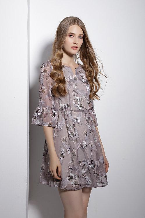 Pamela Poet Sleeve Dress