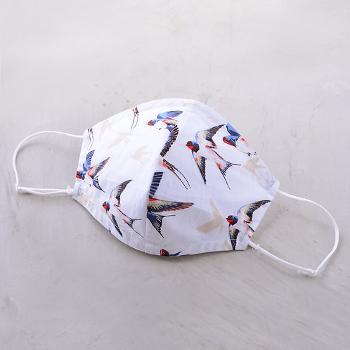 2-Layer Fabric Mask - Bird of Peace