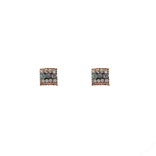 Shari Square Earrings
