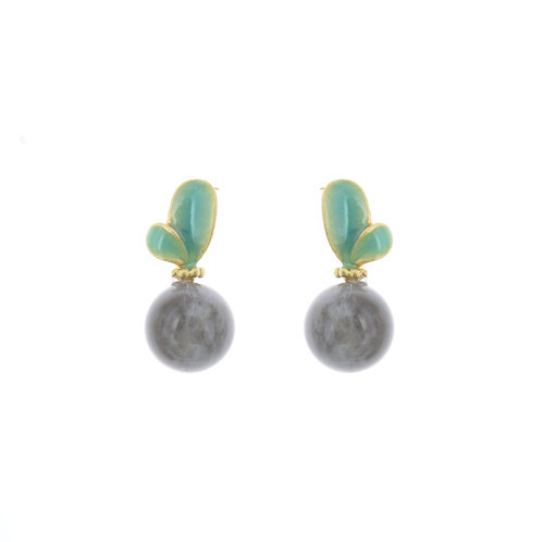 Bari Plant Earrings